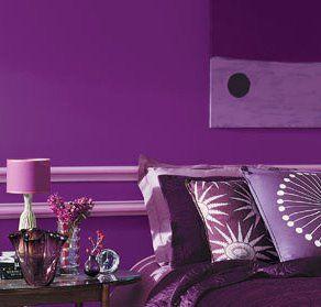 Peinture Chambre Violet. Chambre Rose Et Violet E Une Chambre ...